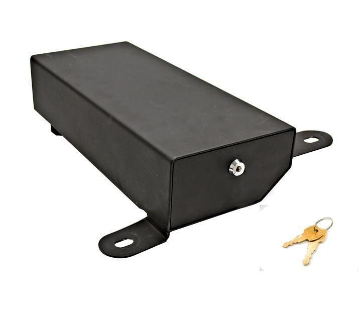 Bestop Black-Underseat Lock Box Passenger side