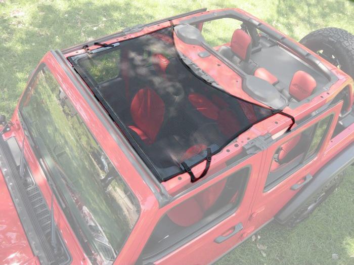 Bestop Targa Style Bikini Top 18-20 Jeep Wrangler JL