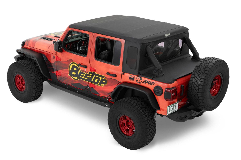 Bestop 18-   Jeep Wrangler Trek top Accessory Kit