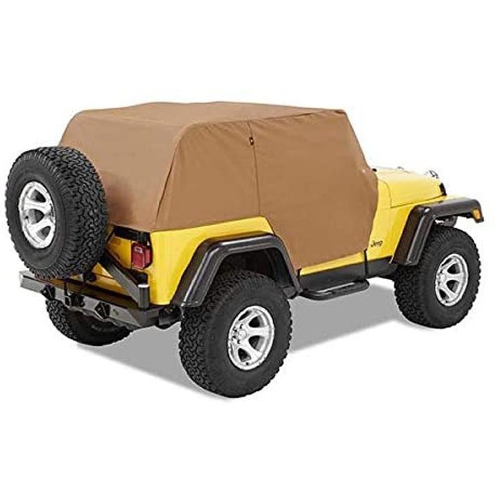 Bestop 07-18 Jeep Wrangler 2 Dr Trail Cover Black