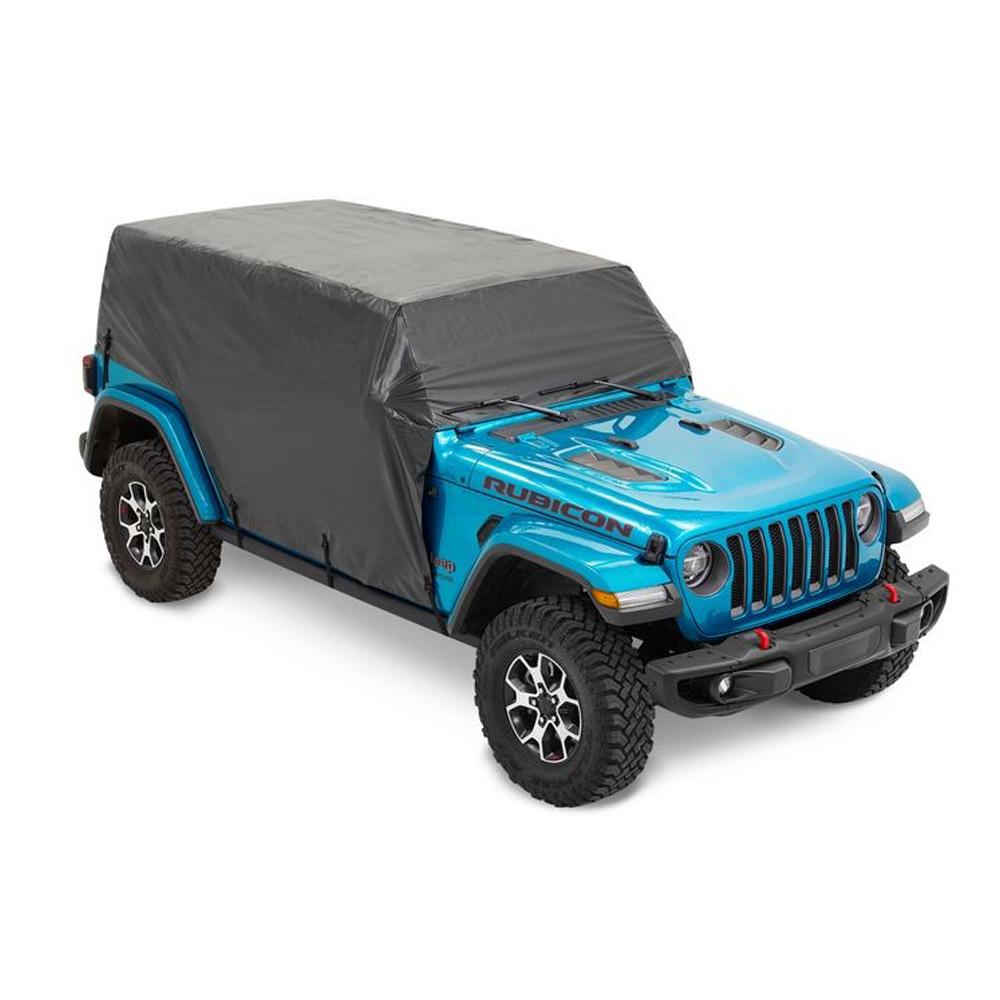 Bestop 07-18 Jeep Wrangler 4 Dr Trail Cover Black