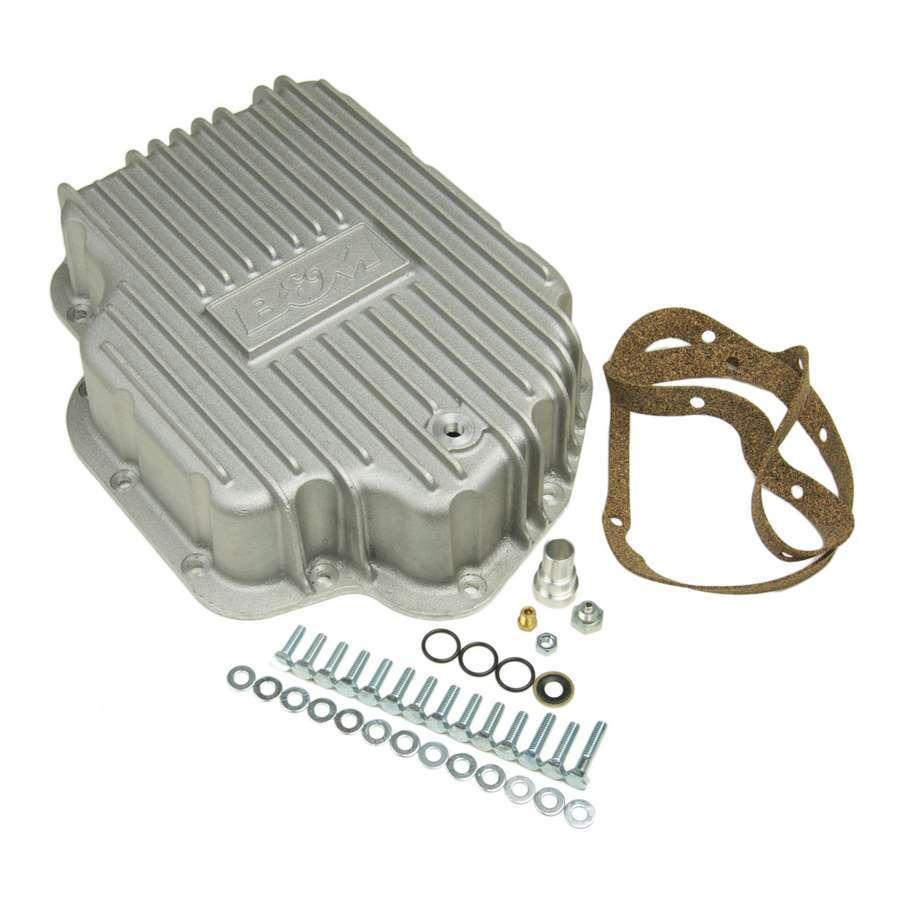 B And M Automotive Cast Alum Tranny Pans