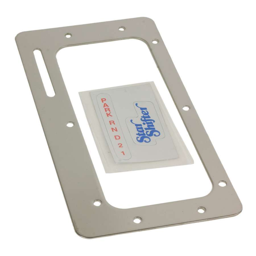 B And M Automotive Boot Plate