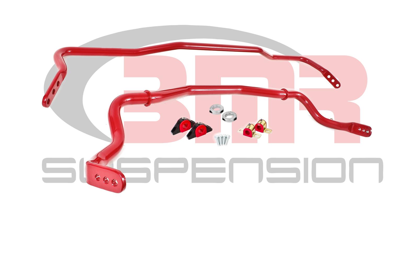 Bmr Suspension 15-20 Mustang Sway Bar Kit With Bushings