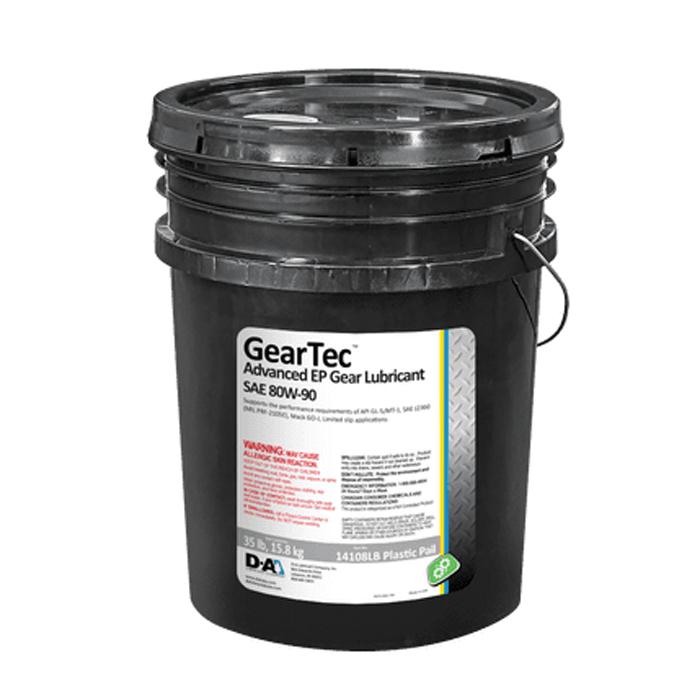 Penngrade Motor Oil Geartec 80w90 - 35 Lb Plastic Pail