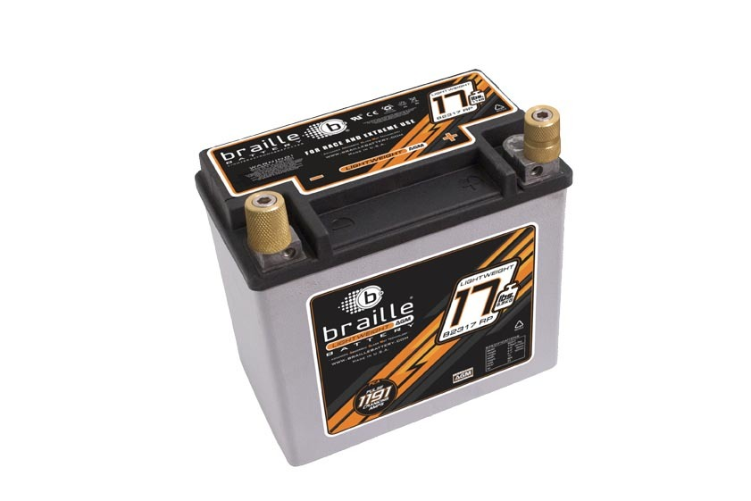 Braille Auto Battery Racing Battery 17lbs 1191 PCA 6.8x4.0x6.1