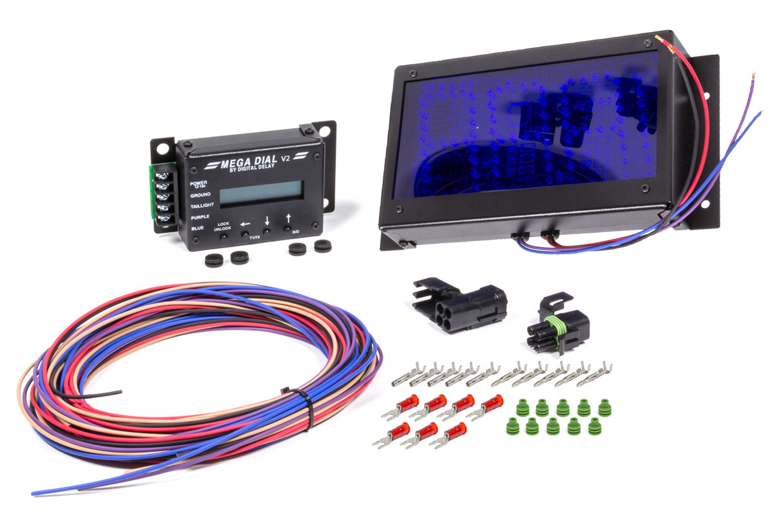 Biondo Racing Products Mega Dial Board - Dual View w/Control Head