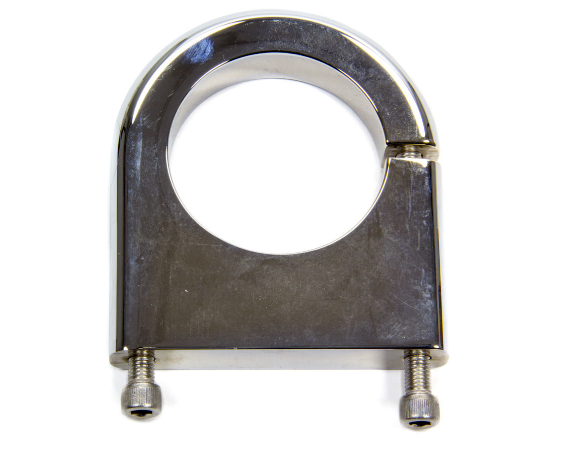Biondo Racing Products Flat Mount Clamp for 10oz. CO2 Bottle - Chrm