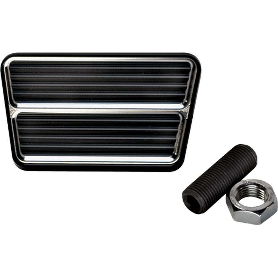 Billet Specialties Black Rectangle Brake Pedal