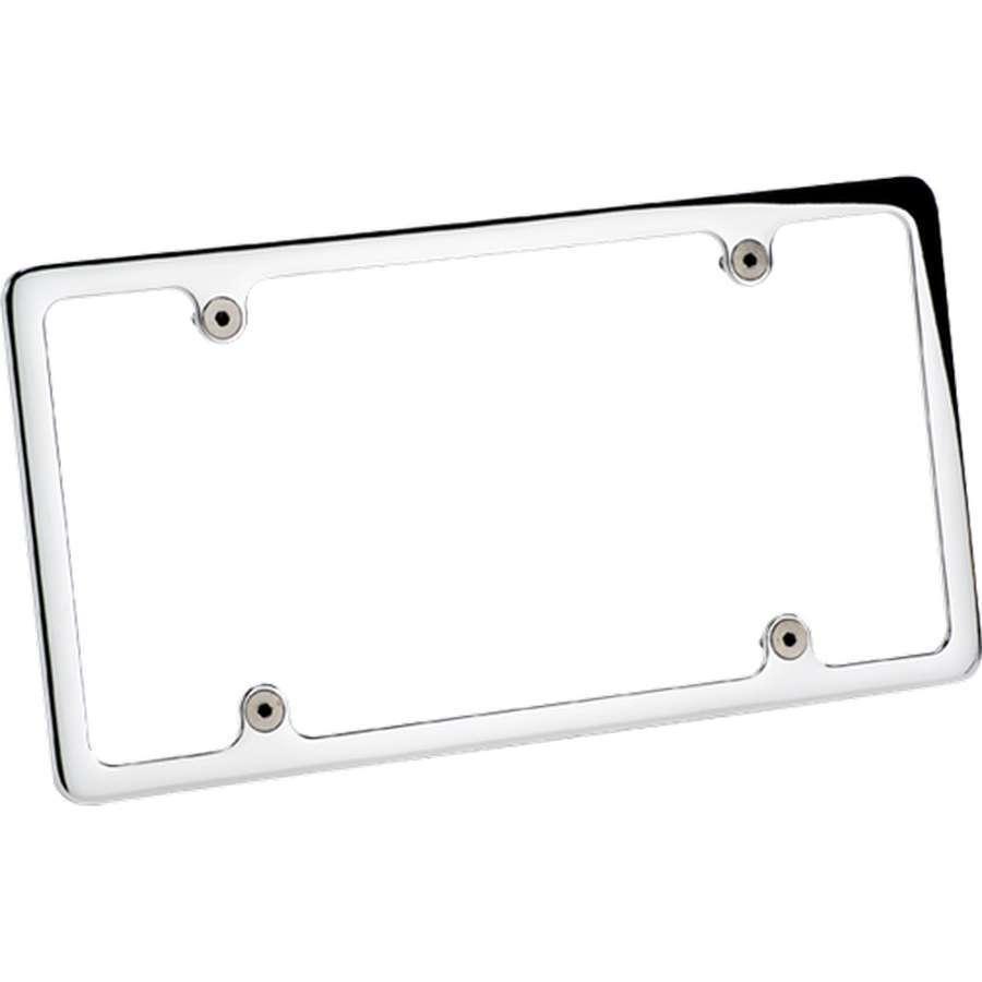 Billet Specialties License Frame-Polished