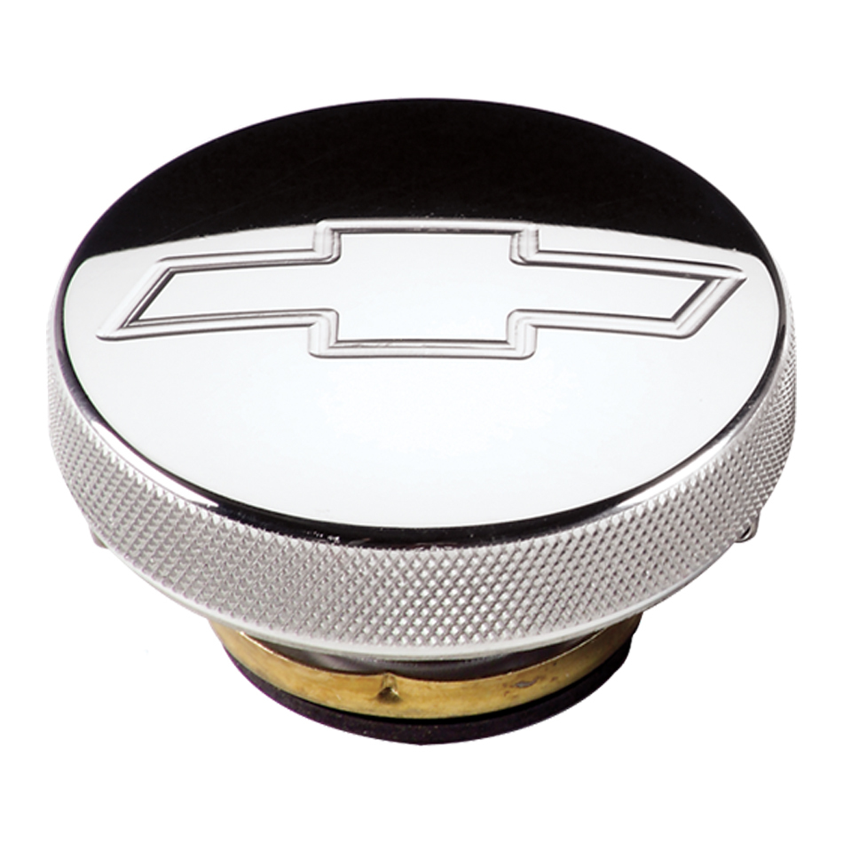 Billet Specialties Radiator Cap 7lb Chevy Bowtie Polished