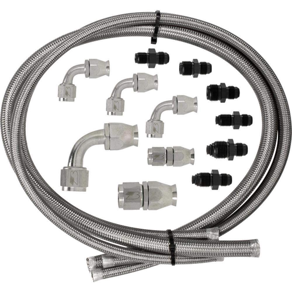 Billet Specialties Power Steering Hose Kit