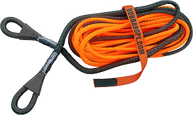 Bubba Rope 3/8in x 50ft Synthetic Winch Line Extension