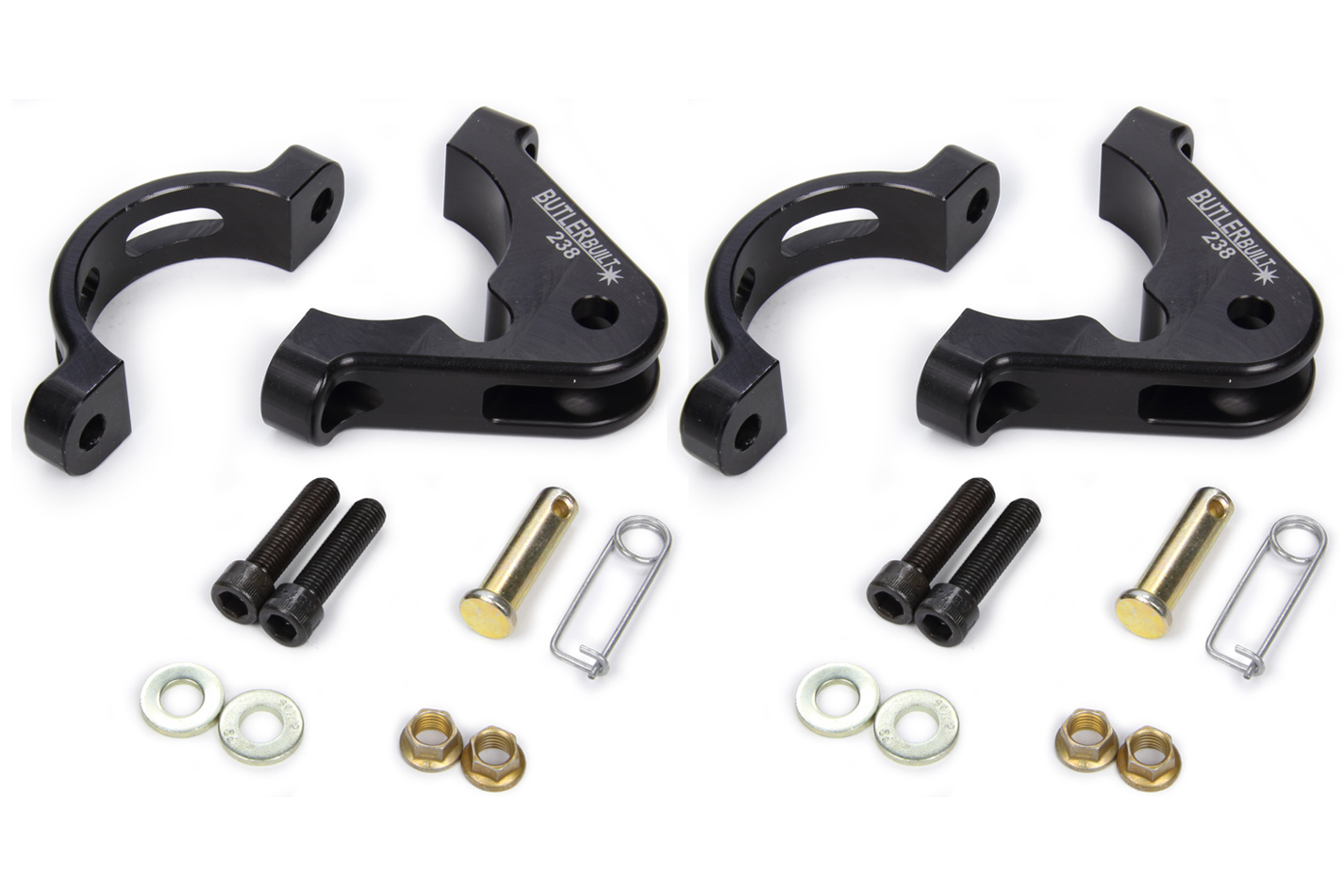 Butlerbuilt 2-3/8 Axle Tether Clamps Only Pair