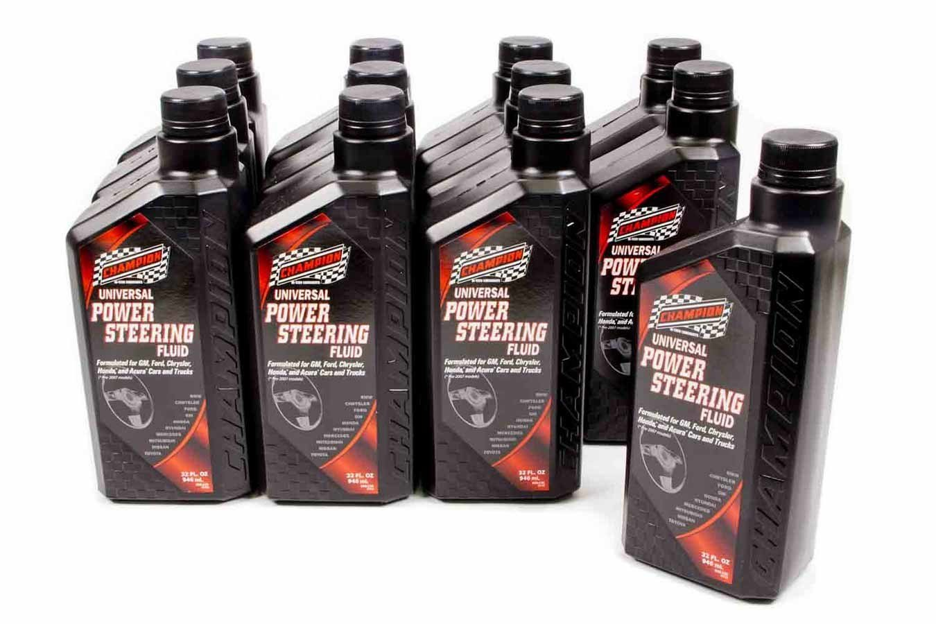 Champion Brand Power Steering Fluid 12x1Qt