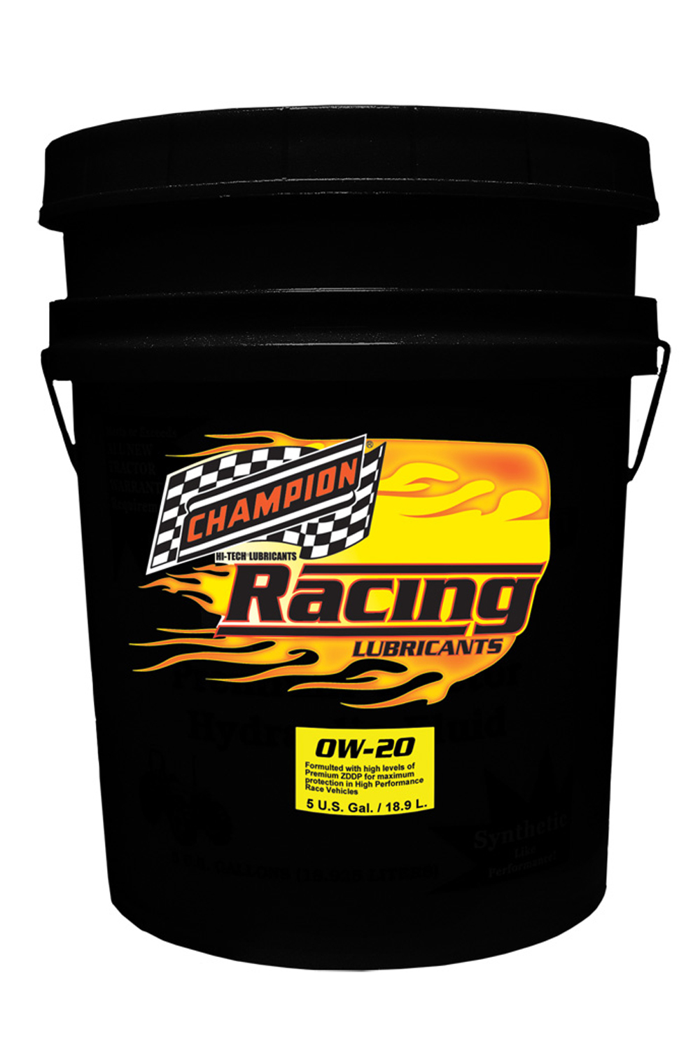 Champion Brand 0w20 Synthetic Racing Oil 5 Gallon