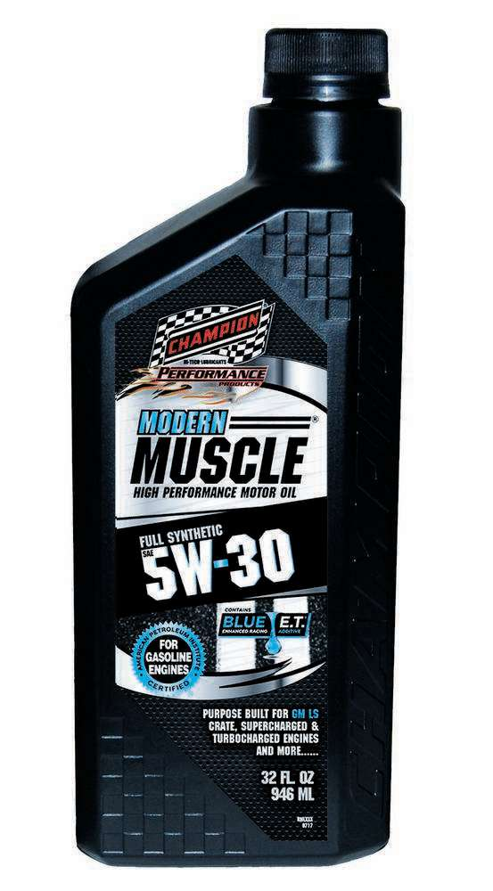 Champion Brand Modern Muscle 5w30 Oil 1 Qt. Full Synthetic