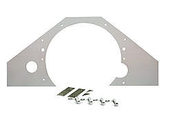 Competition Engineering Mid Motor Plate - Chevy Steel .090