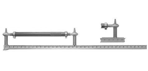 Coleman Machine Rod Ruler