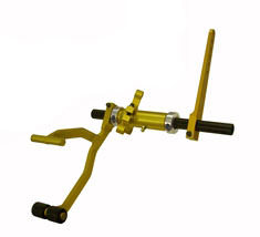 Coleman Machine Adj. Gas Pedal Roller Bearing Adj. Angle Mnt