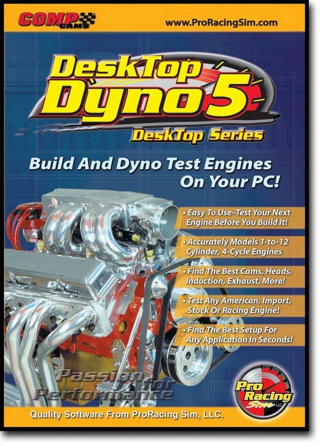 Comp Cams Desktop Dyno Engine Simulator
