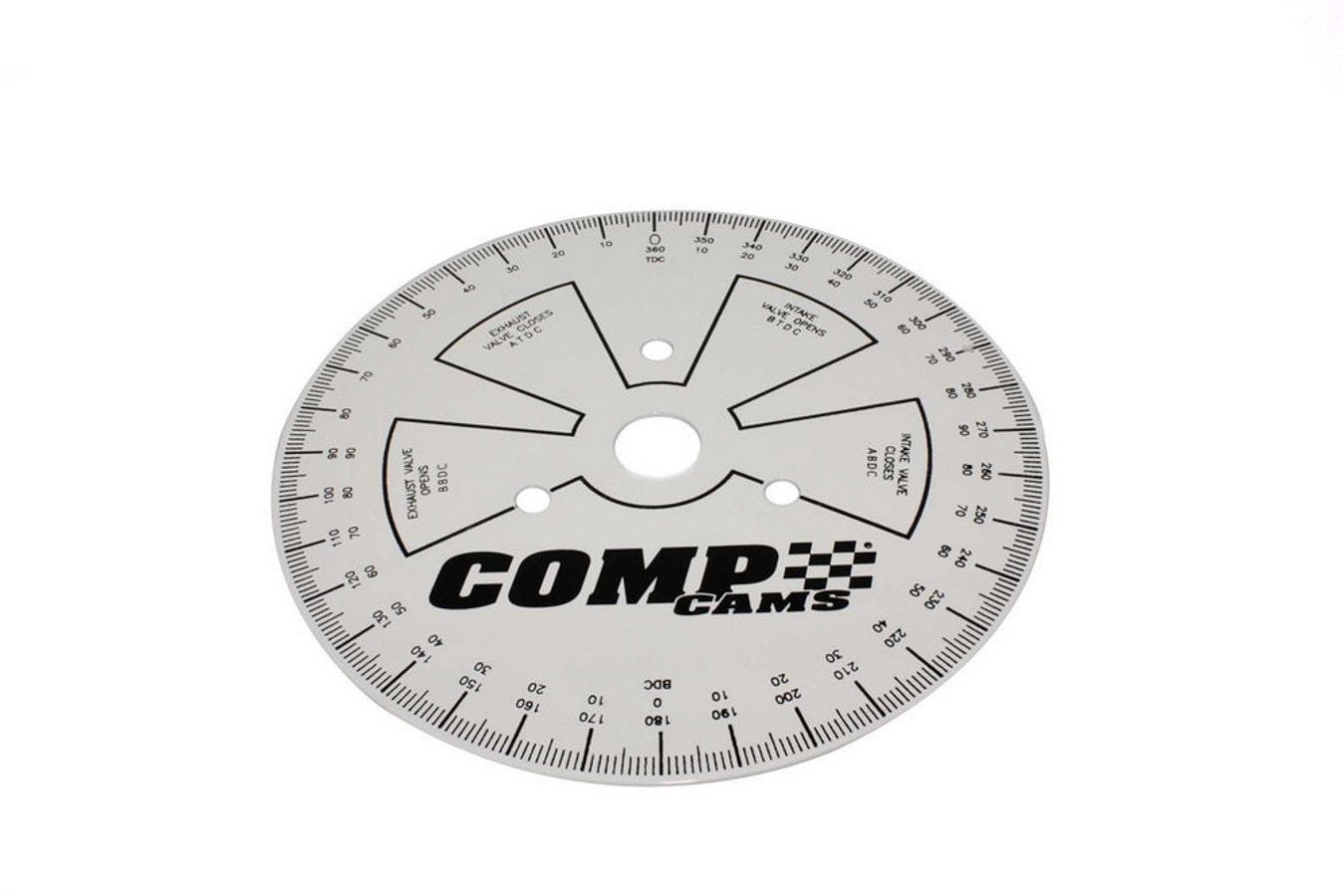 Comp Cams Degree Wheel 9 Inch Sportsman
