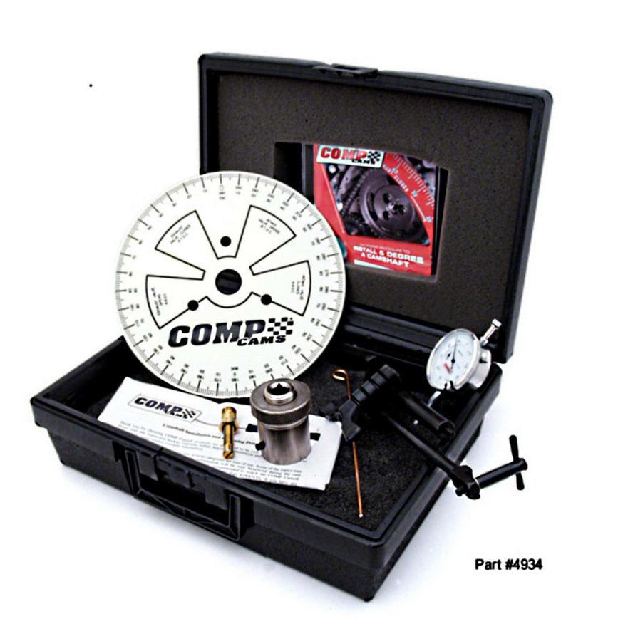 Comp Cams Camshaft Degree Kit