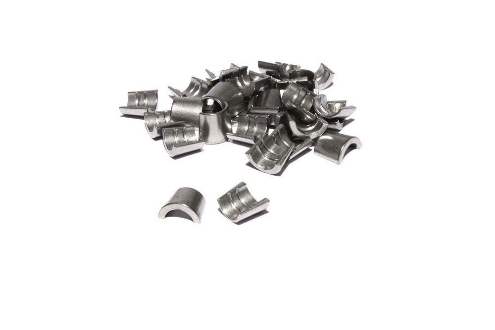 Comp Cams 5/16in Valve Locks Steel 7 Degree- Single Groove