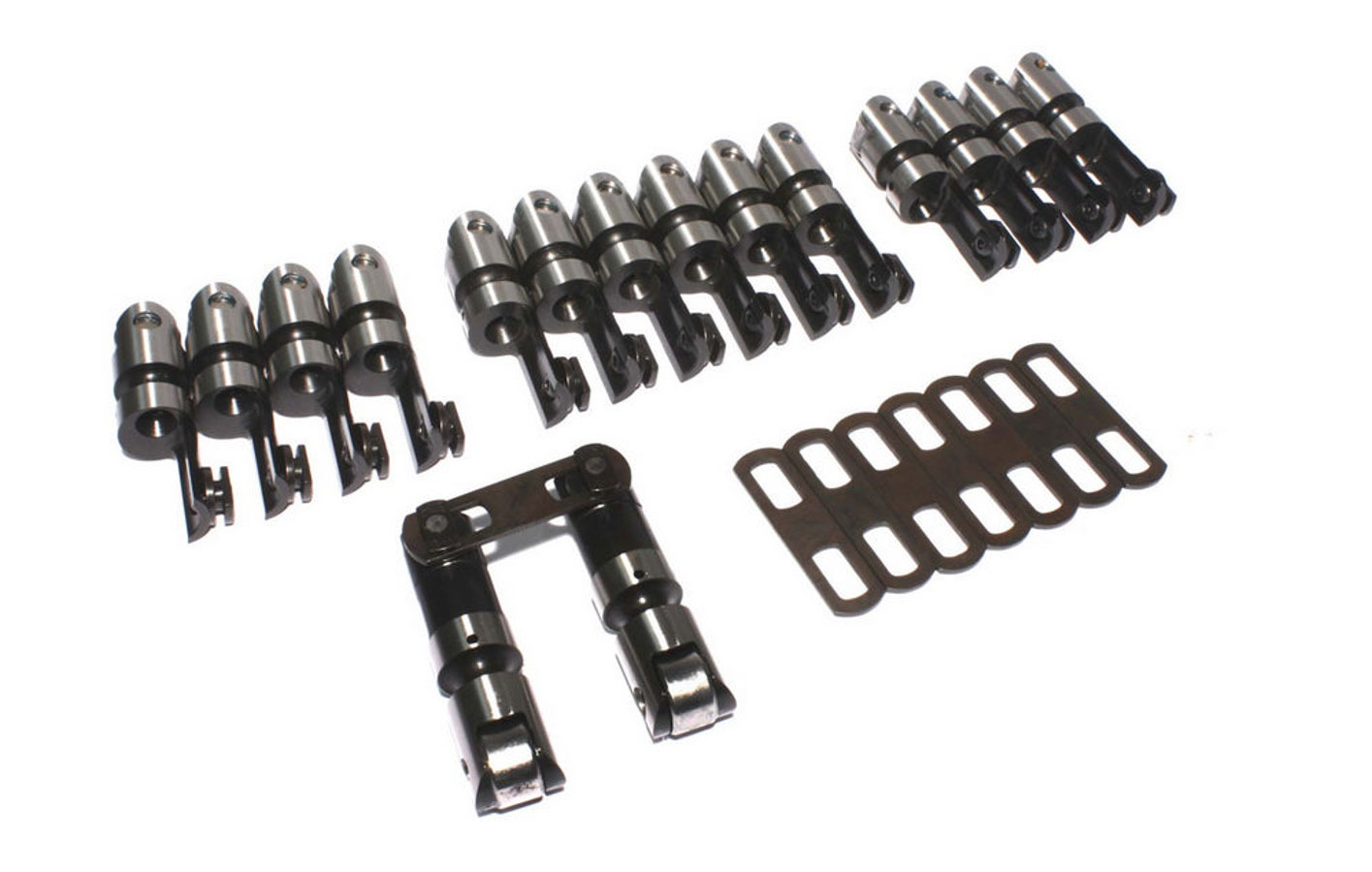 Comp Cams Sbc Hi-Tech Offset Style Roller Lifters-.842 Bore