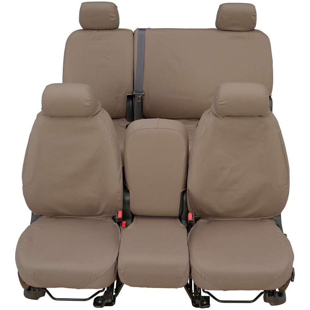 Covercraft Polycotton SeatSaver Cus tom Front Row Seat Cover