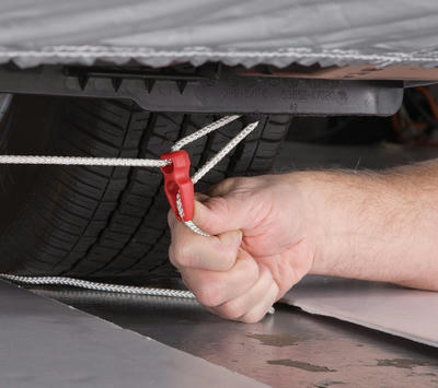 Car and Truck Cover Hold-Downs
