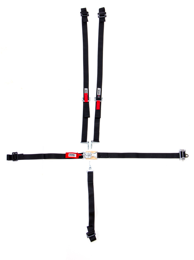 Crow Enterprizes 5-Pt Harness System LL 2in Ratchet And Belts