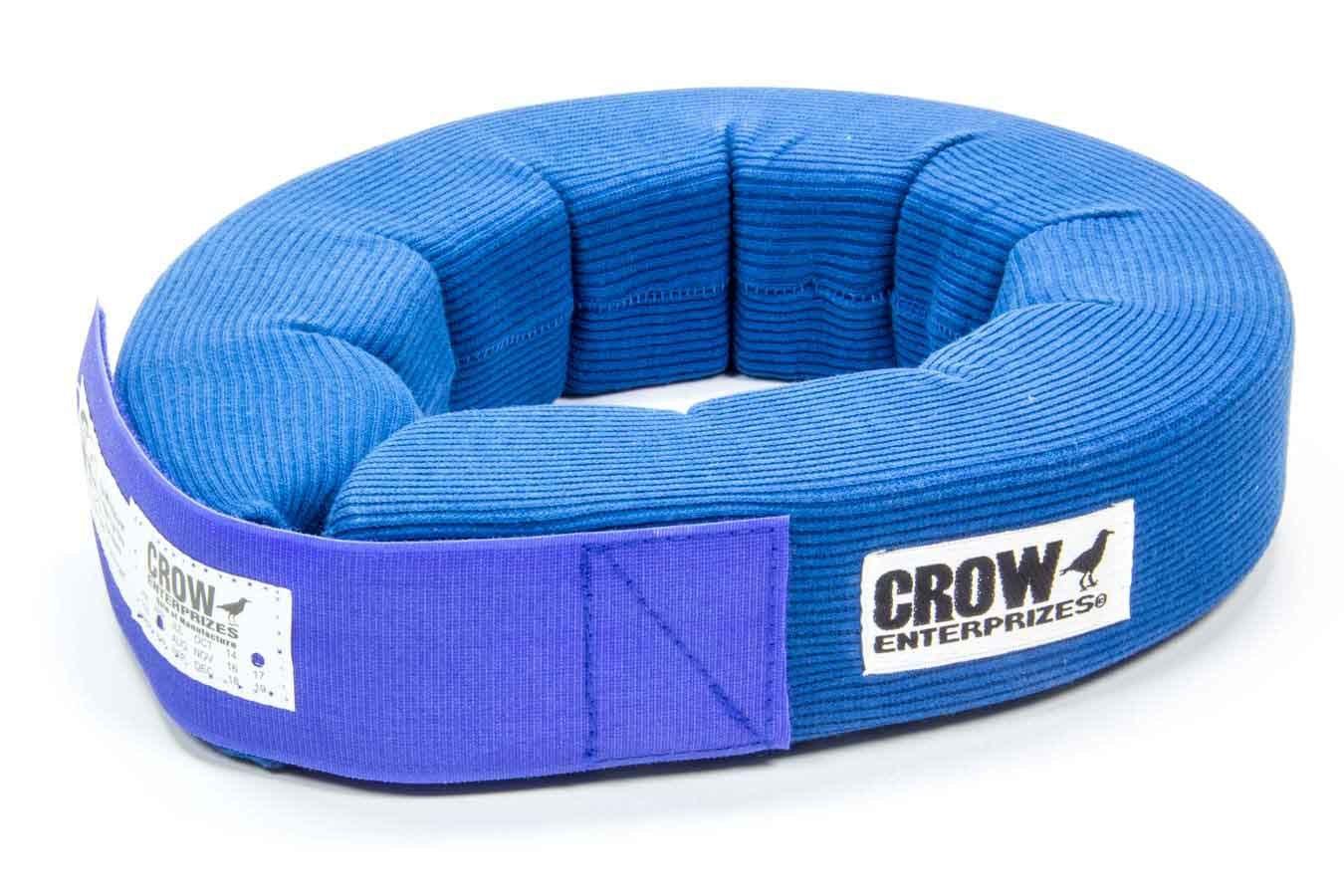Crow Enterprizes Neck Collar Knitted 360 Degree Blue SFI 3.3