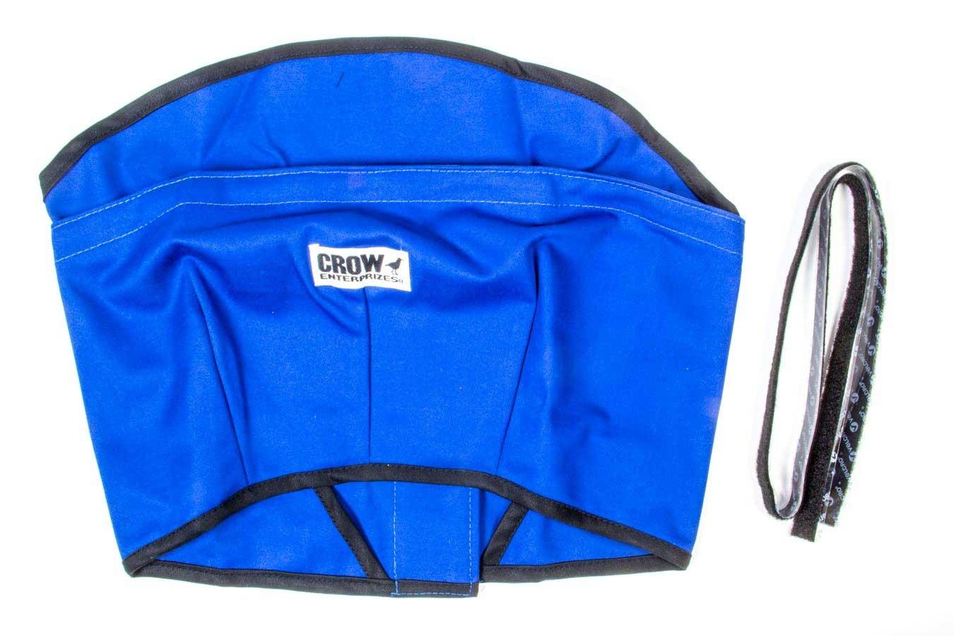 Crow Enterprizes Helmet Skirt Blue Velcro Attachment