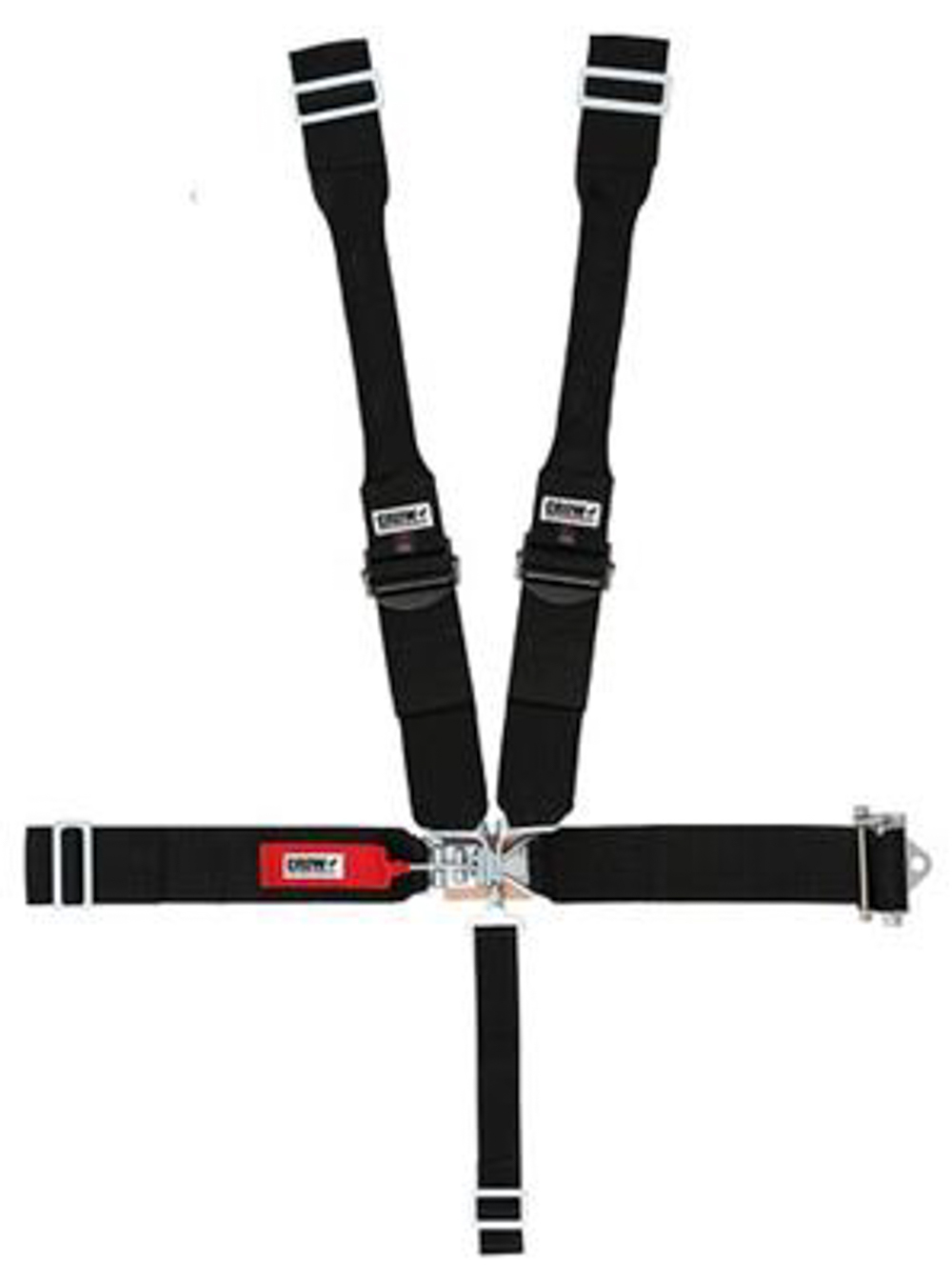 Crow Enterprizes Seat Belts 5 Point With Ratchet Left Side 5-Way