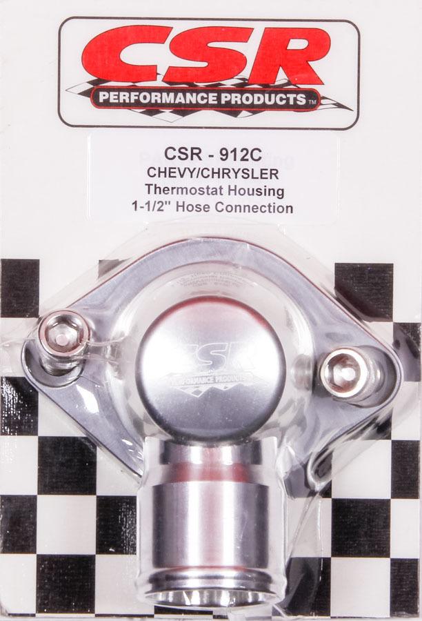 Csr Performance Swivel Thermostat Hsng. GM & Mopar 1-1/2in Hose
