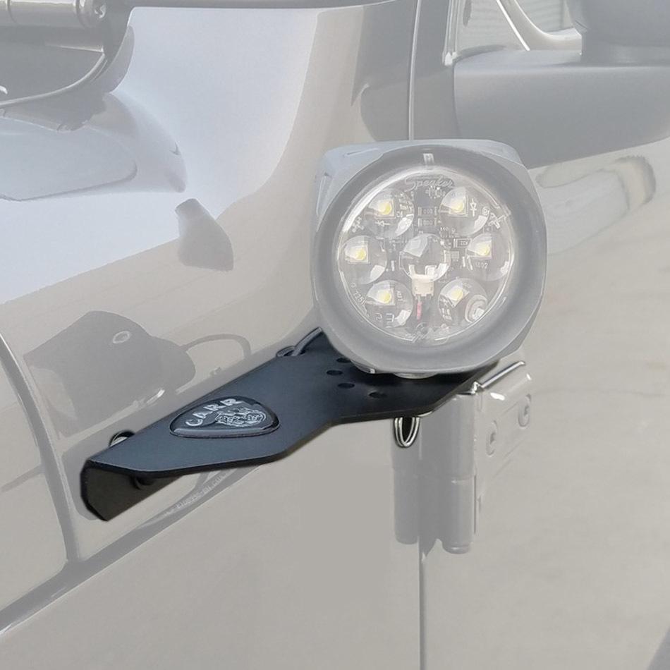 Carr 18-  Jeep JL 180 Degree Light Mount Black Pair