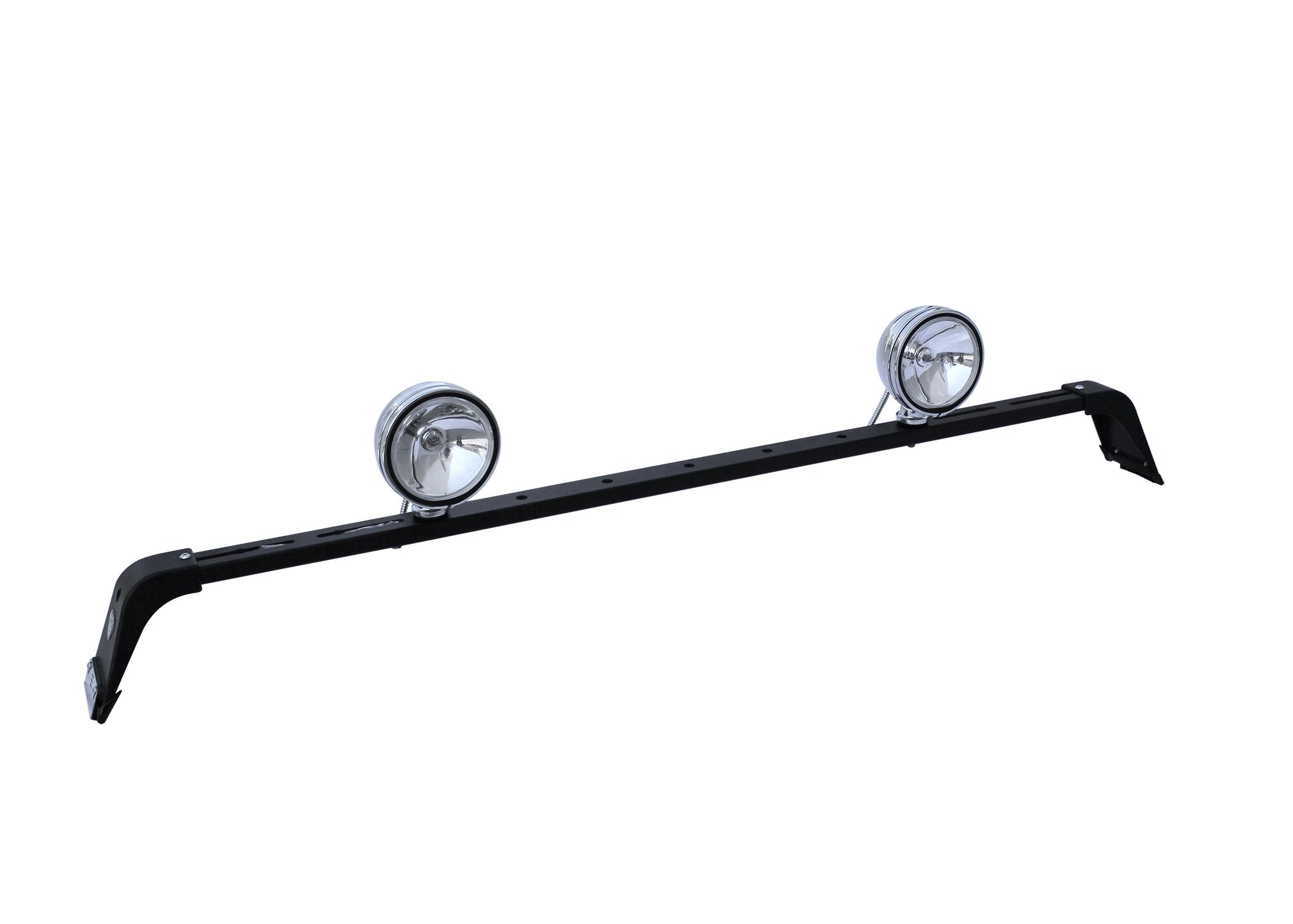 Carr Deluxe Light Bar Black P owder Coat