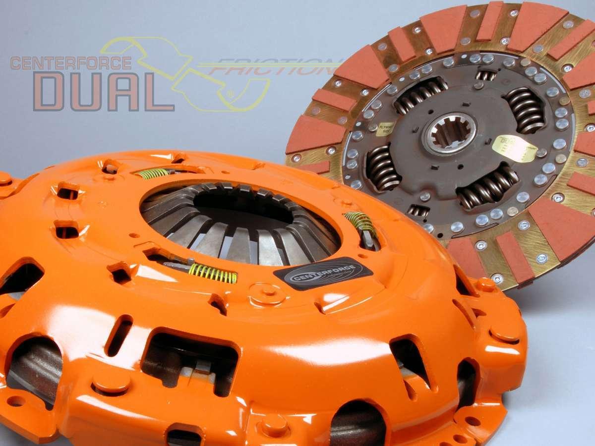 Centerforce Dual Friction Clutch Kit Ford 1-3/8 10-Spline