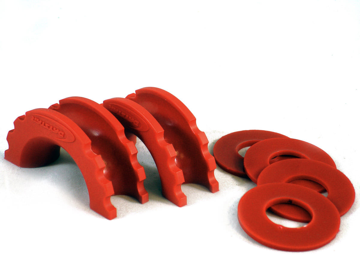 Daystar Products International D-Ring Isolator & Washer Red