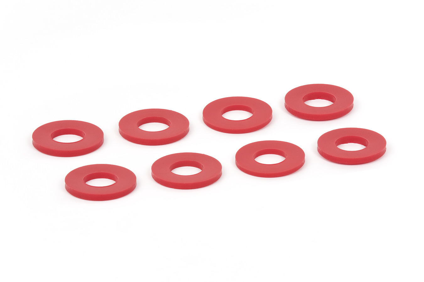 Daystar Products International D-Ring Washers Red