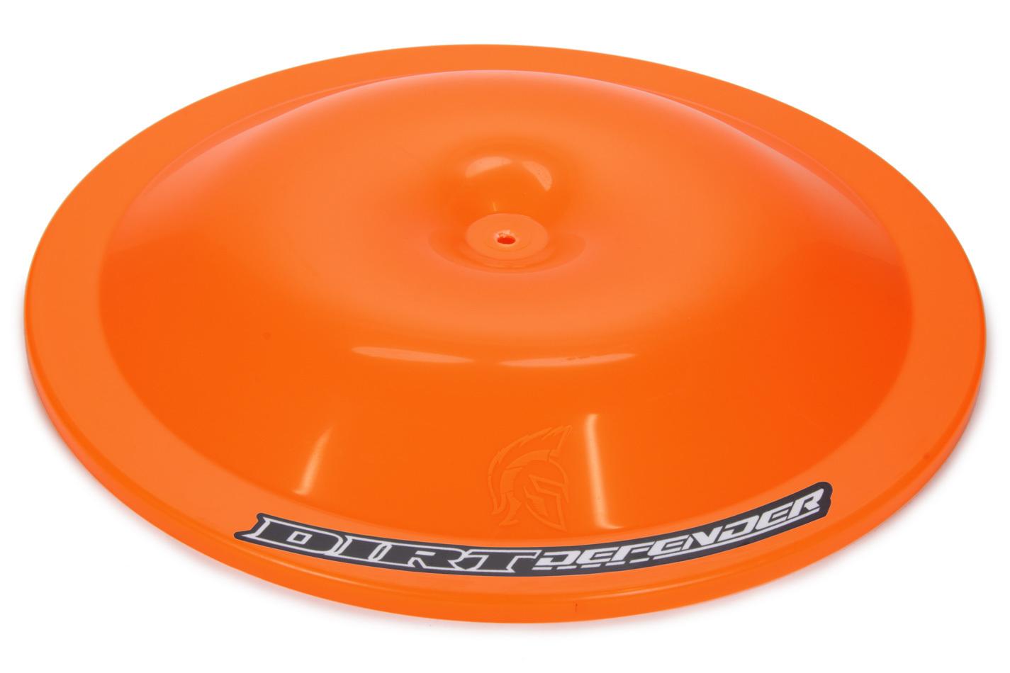 Dirt Defender Racing Products Air Cleaner Top 14in Neon Orange
