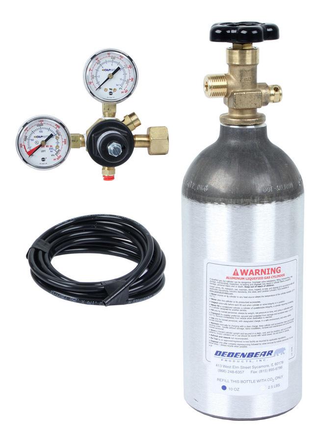 Dedenbear CO2 Bottle Kit - Complete