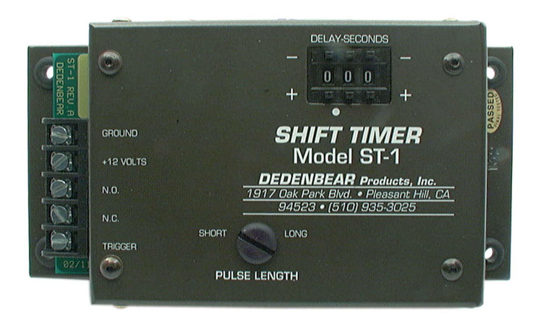 Dedenbear Shift Timer