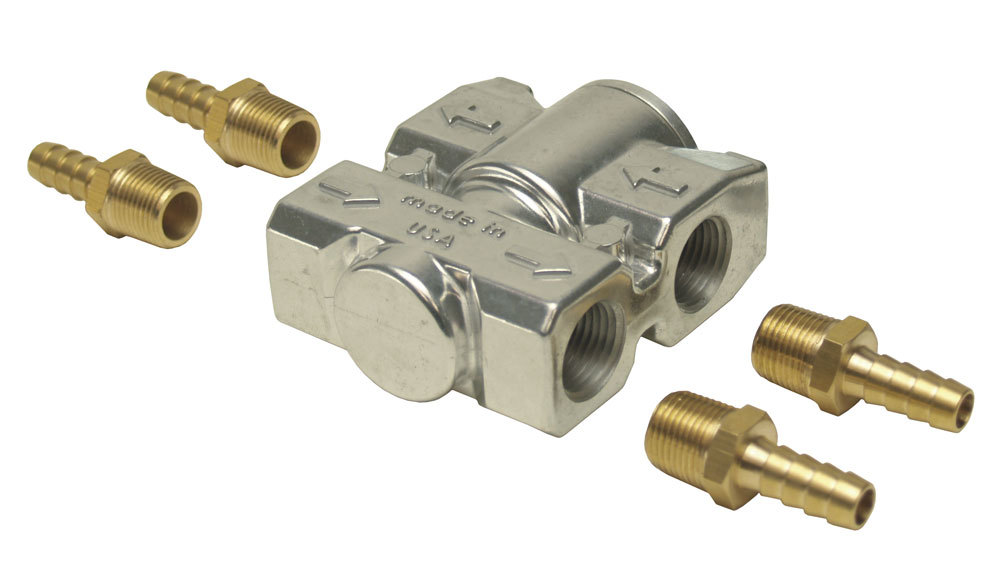 Derale Fluid Control Thermostat Kit 3/8in NPT