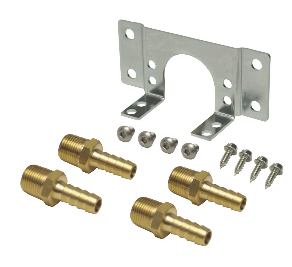 Derale Fluid Control T-stat Mnt Kit (Fits P/N: 13011/25