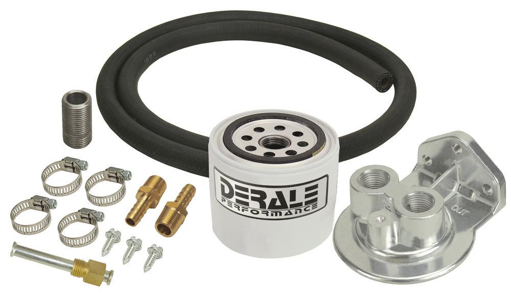 Derale Standard Trans Filter Kit with Filter
