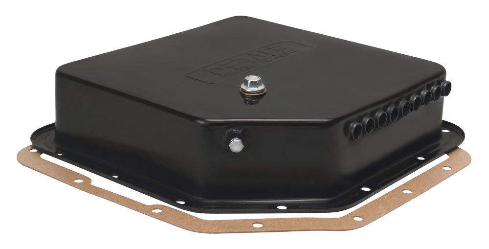 Derale Black Trans Pan GM TH350