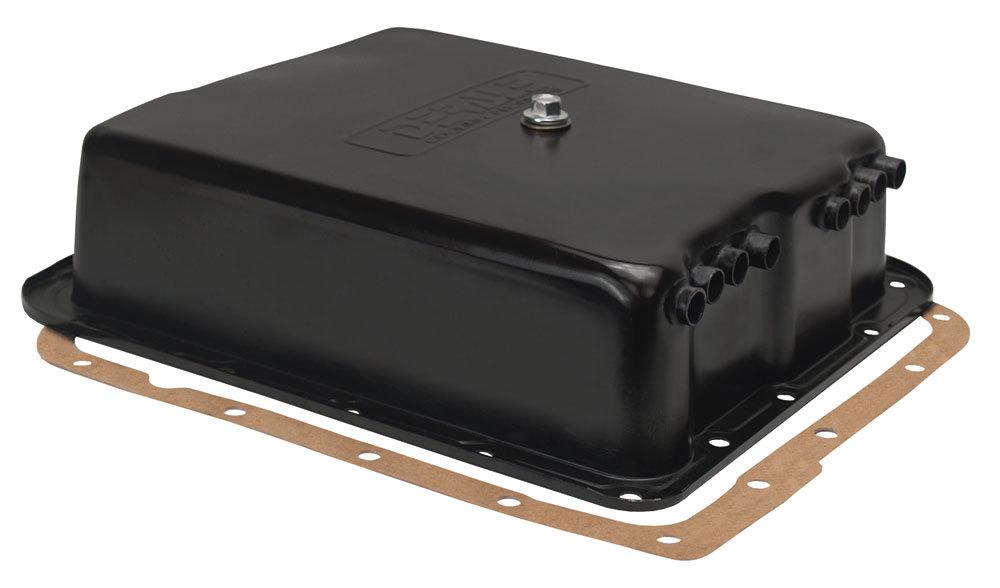Derale Black Trans Pan GM 700R4/4L60E