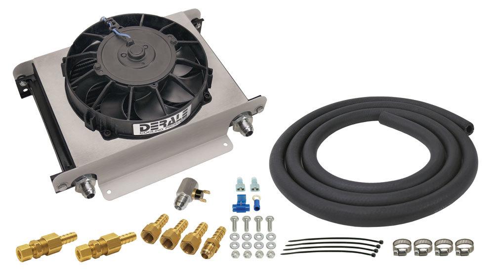 Derale Hyper-Cool Trans Cooler  Kit -8an